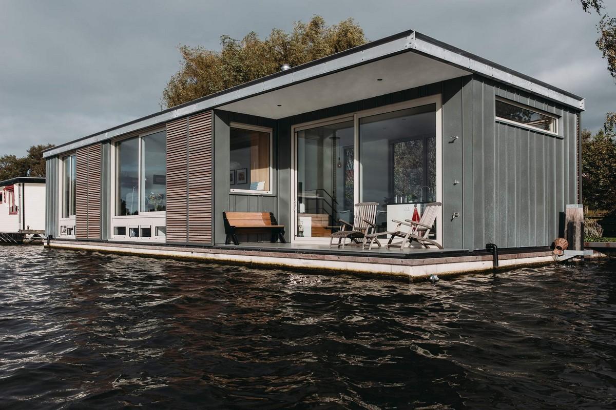 Плавающая вилла в Нидерландах