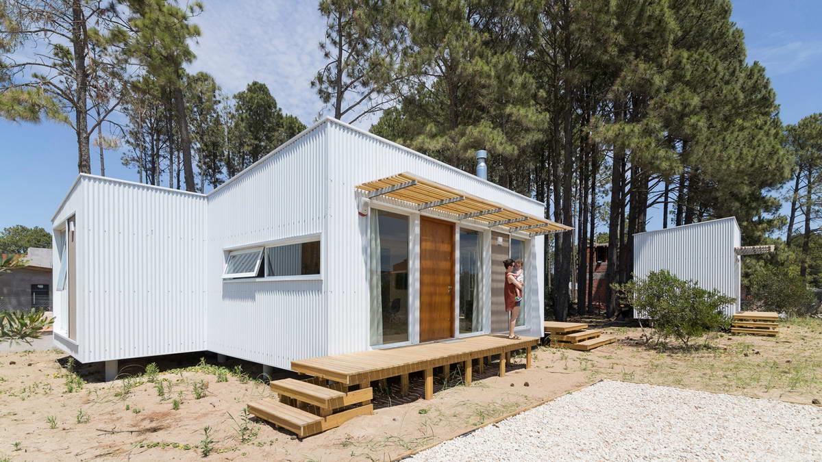 Простой и недорогой домик для загородного отдыха в Аргентине