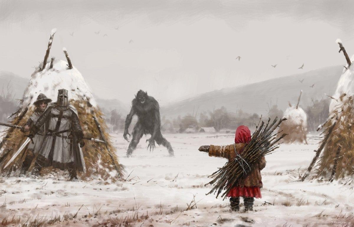 Устрашающие картины Якуба Розальски, на которых нет хэппи-энда