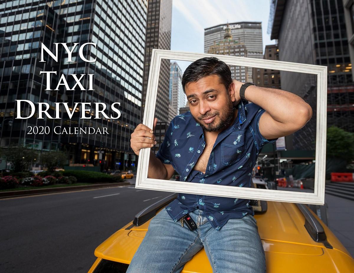 Весёлый календарь от таксистов Нью-Йорка на 2020 год