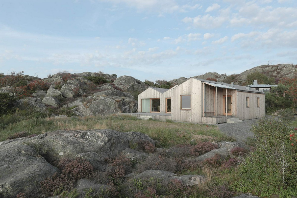 Вилла на архипелаге Гётеборга в Швеции