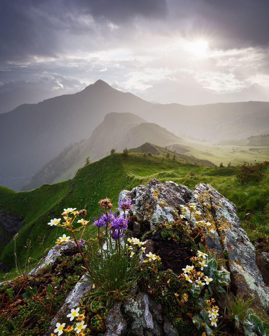 Волшебные пейзажи на снимках Мартина Рака