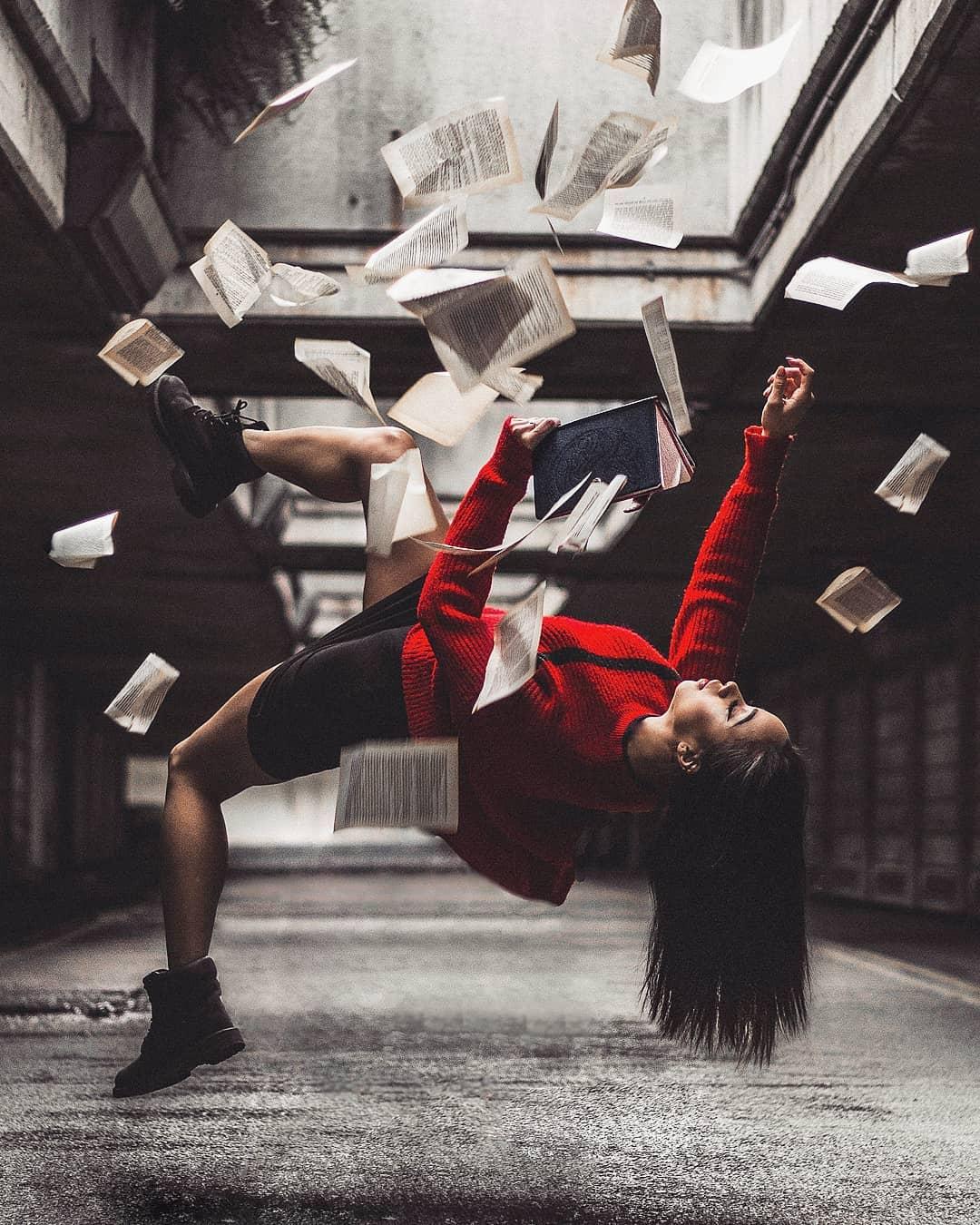 Девушки в красном на снимках Кайо Борема