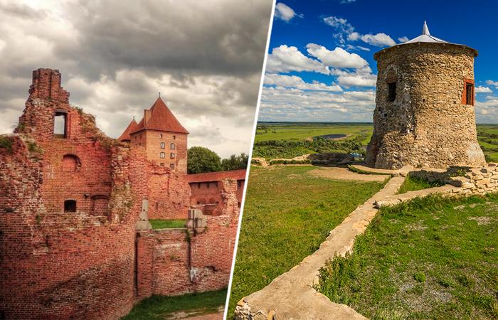 Древние замки России, где редко бывают туристы