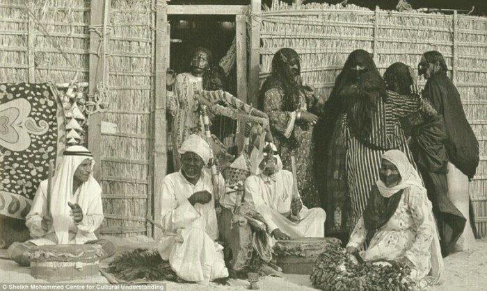 Дубай до открытия месторождения нефти на снимках