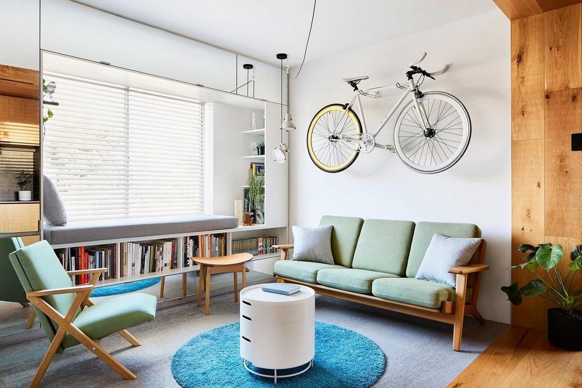 Двухкомнатная квартира в Мельбурне