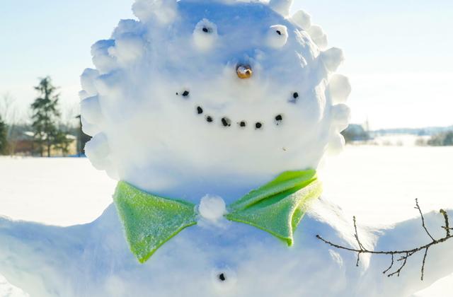 Из истории появления снеговика