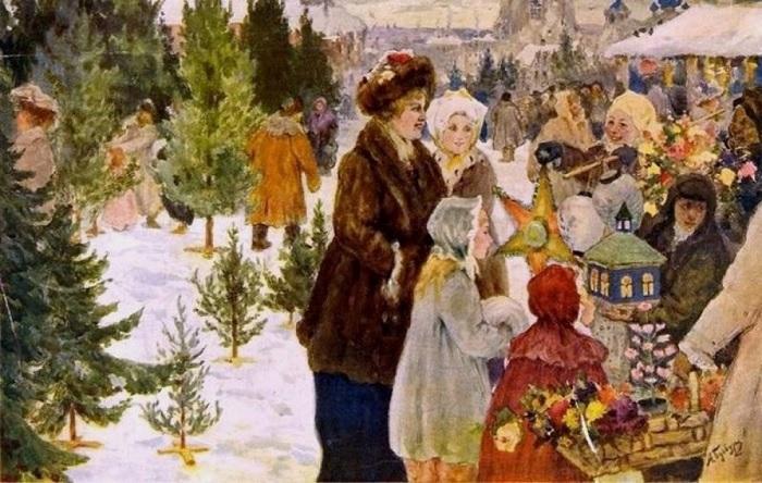 Когда начали праздновать Новый год в России