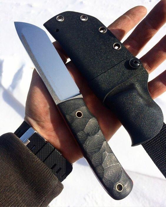 Красивые и брутальные ножи, которыми мужчины хвастаются в интернете