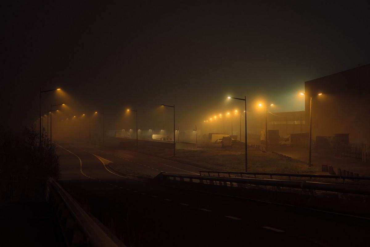 Мрачные пейзажи пустынных улиц от Пьера Путмана