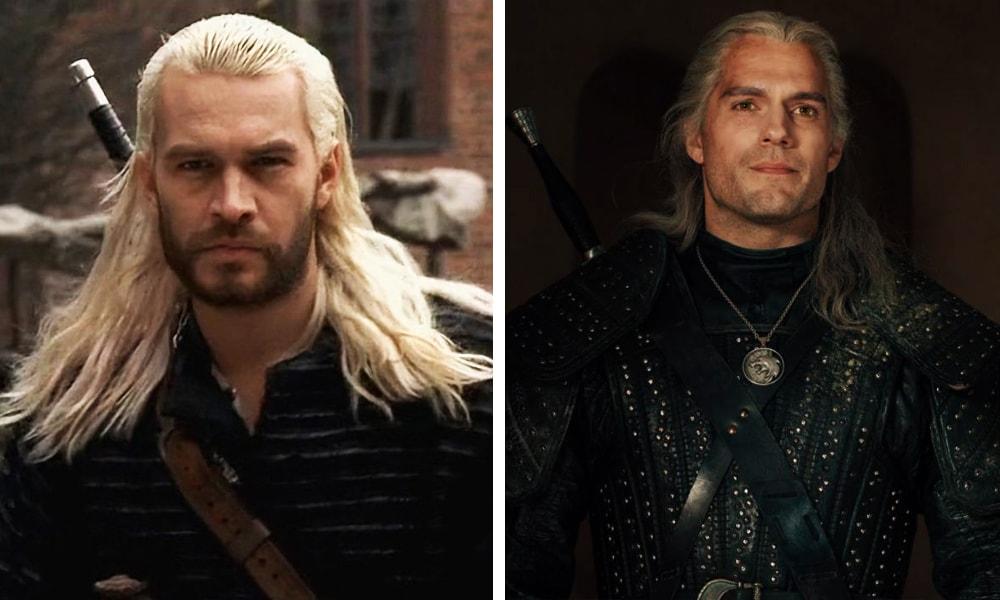 Персонажи сериала «Ведьмак» тогда и сейчас
