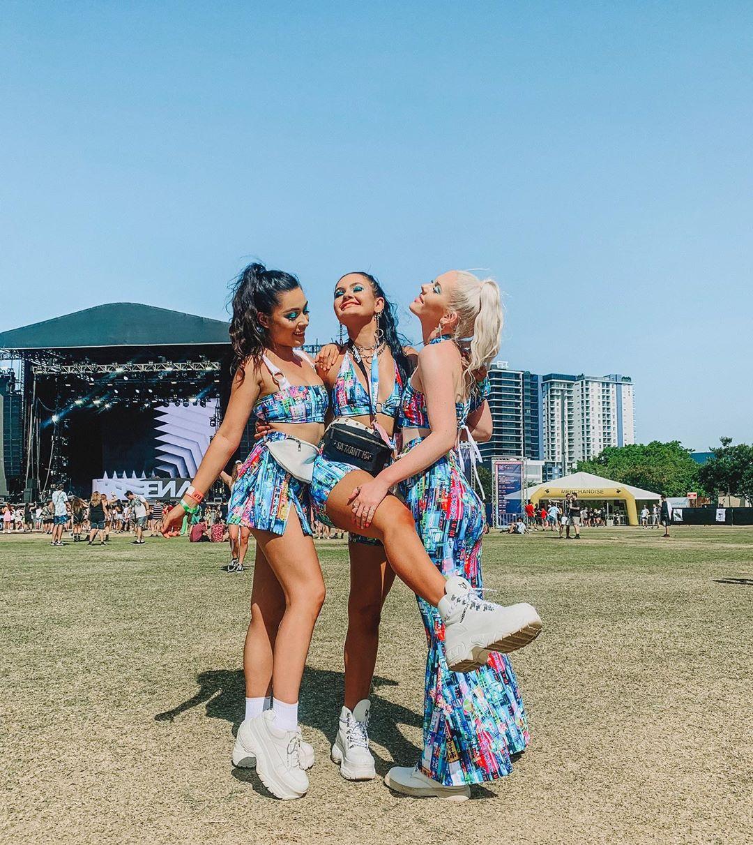 Посетители музыкального «Festival X» в Сиднее