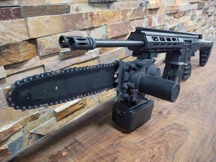Примеры необычного огнестрельного оружия