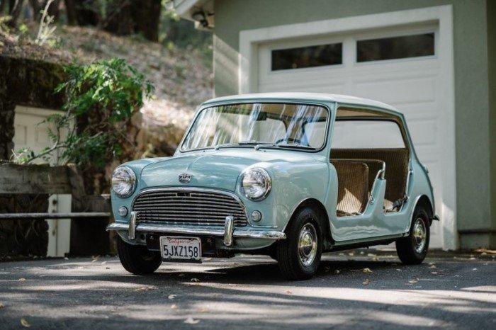 Редкий Austin Mini Beach Car 1962 был продан в США