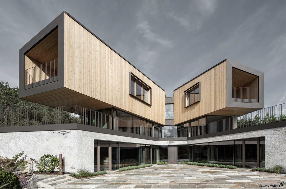 Современный дом на севере Италии