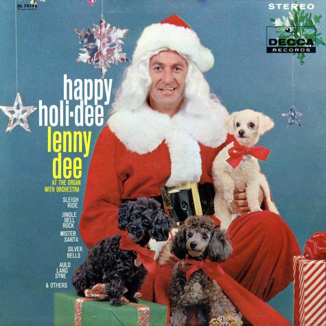 Странные и нелепые рождественские обложки пластинок прошлого