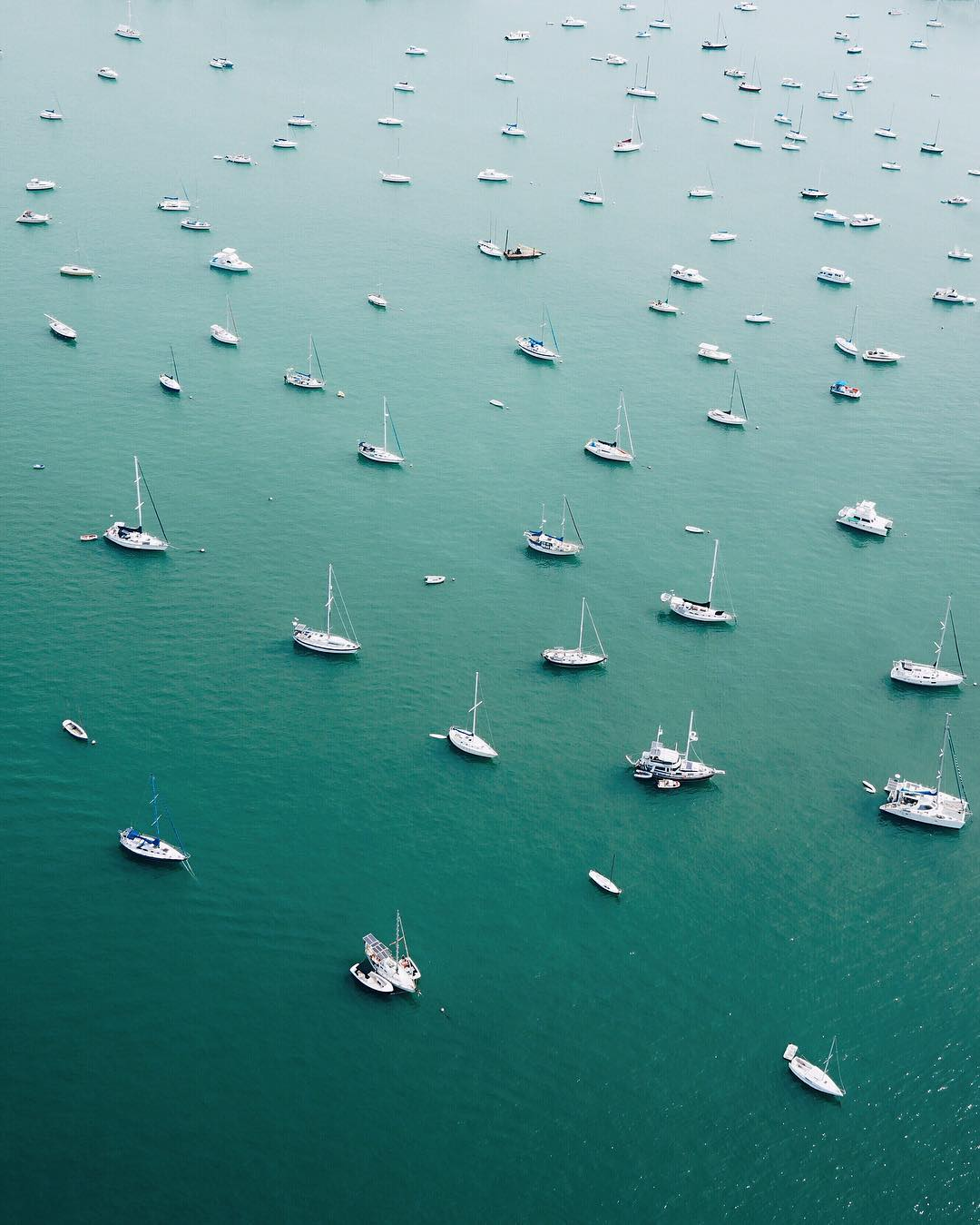 Удивительные аэрофотоснимки от Эрика Уорда