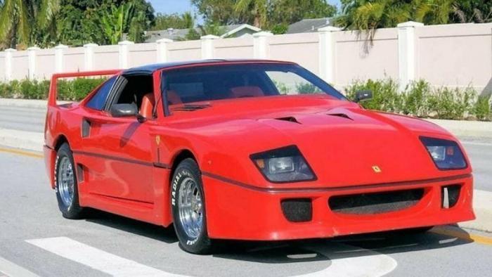 В США продаётся фальшивый Ferrari F40 за 21 000 долларов