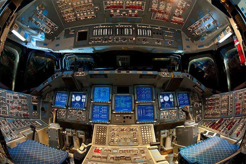 Внутри последнего космического челнока «Индевор», отлетавшего 20 лет