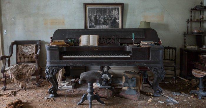 Заброшенный дом сокровищ прошлого на острове Лонг-Айленд
