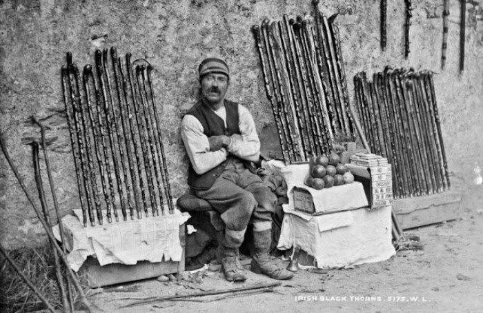 20 винтажных фотографий о жизни Ирландии в XIX веке