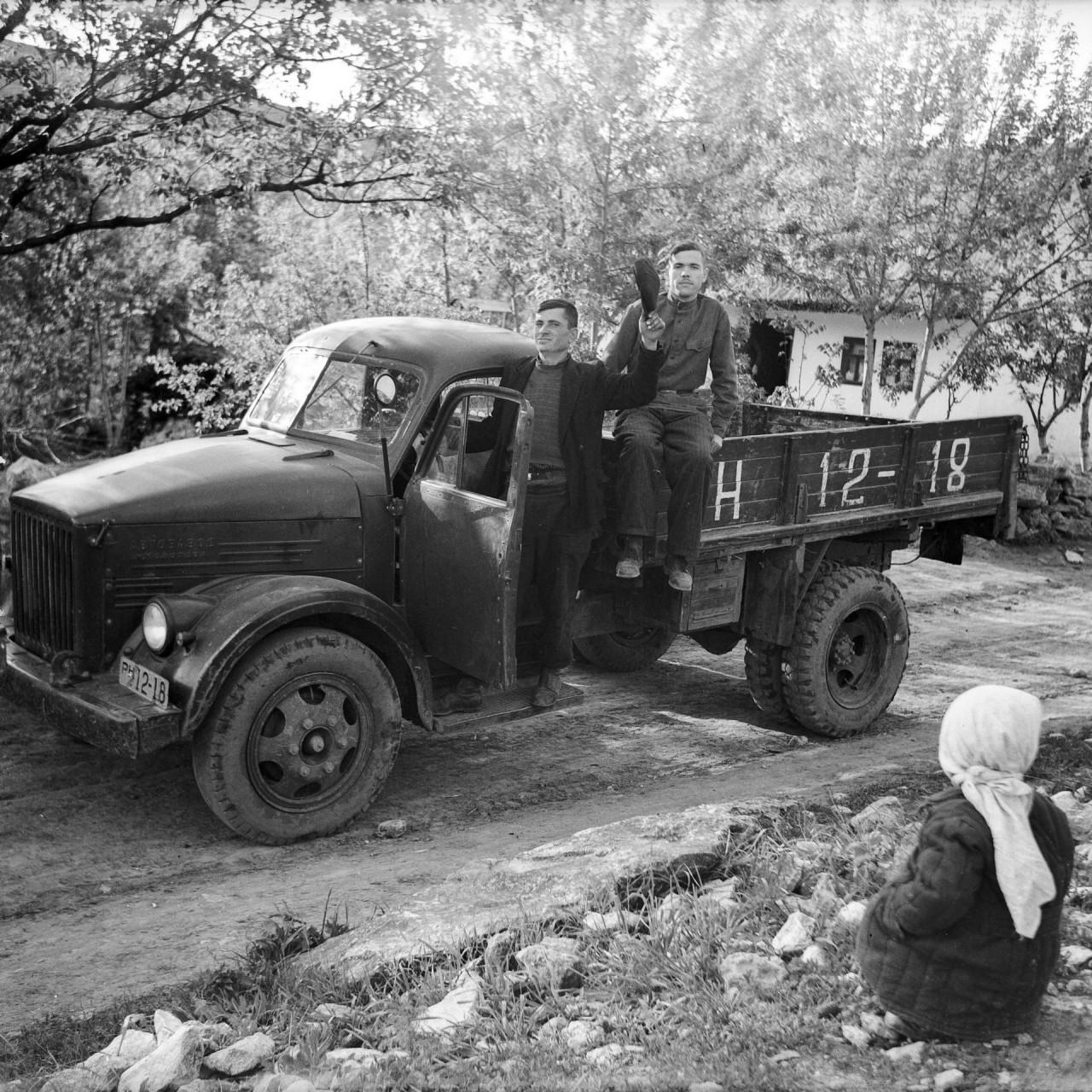 Архив снимков 1950-70-х годов молдавского фотографа Захарии Кушнира
