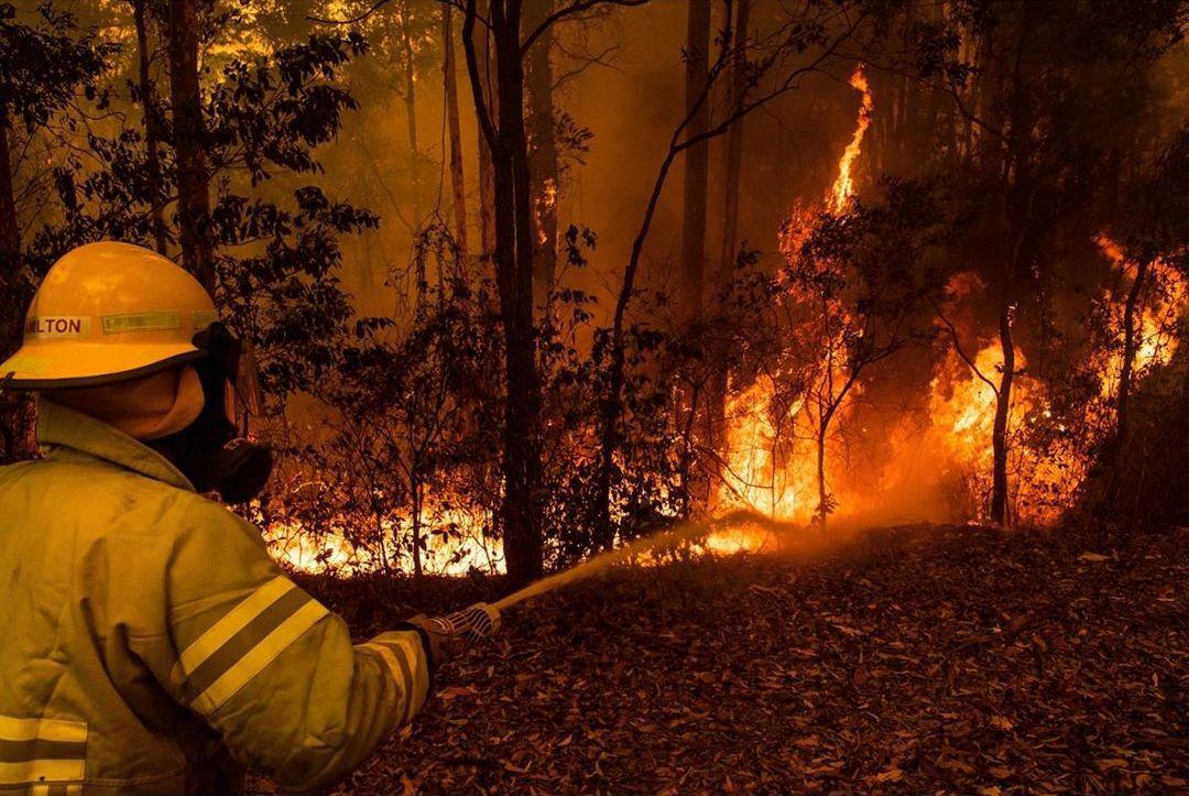 Фотограф документирует разрушительные лесные пожары в Австралии