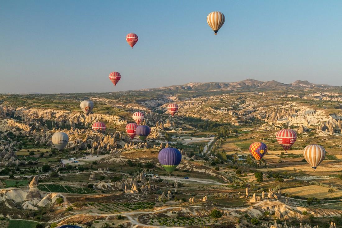 Идеальные места для незабываемых полетов на воздушном шаре