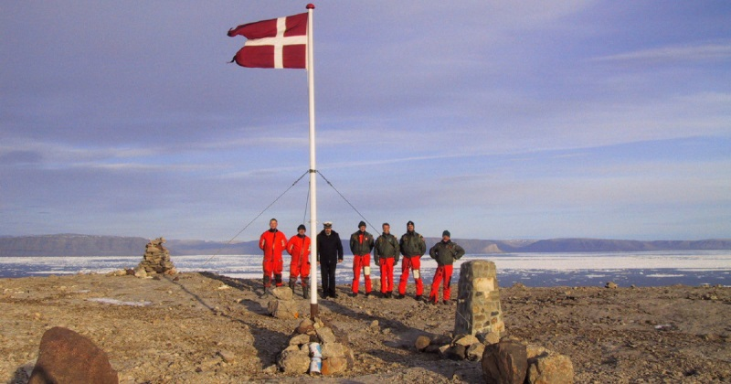 Интеллигентная война между Канадой и Данией за остров Ганса