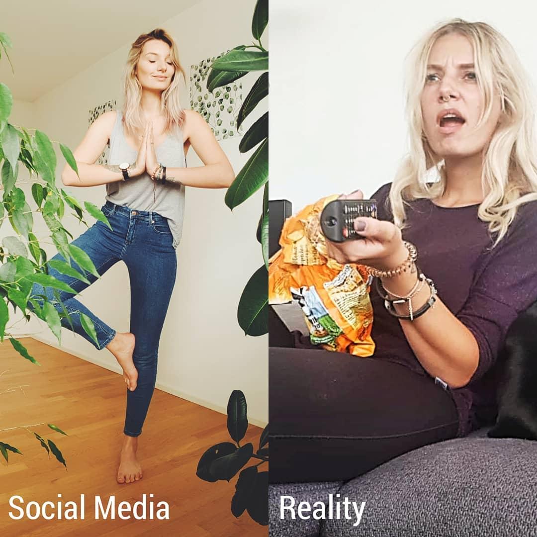Как выглядят «идеальные» фото из Инстаграм в реальности