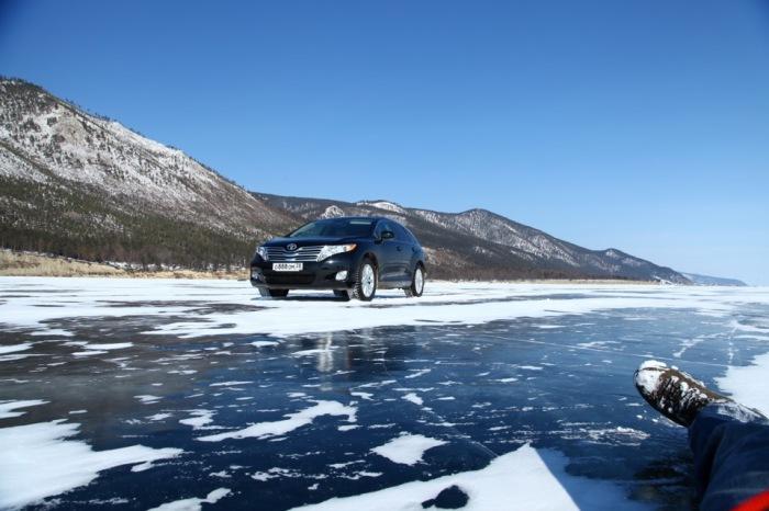 Какая толщина льда способна выдержать автомобиль