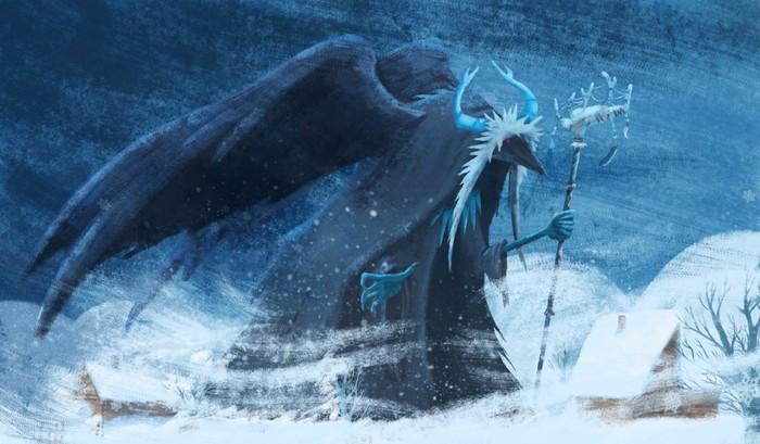 Кого боялись зимними ночами у разных народов