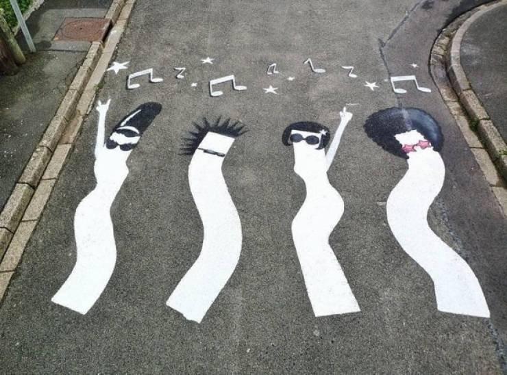 Крутое уличное искусство от художника OakOak