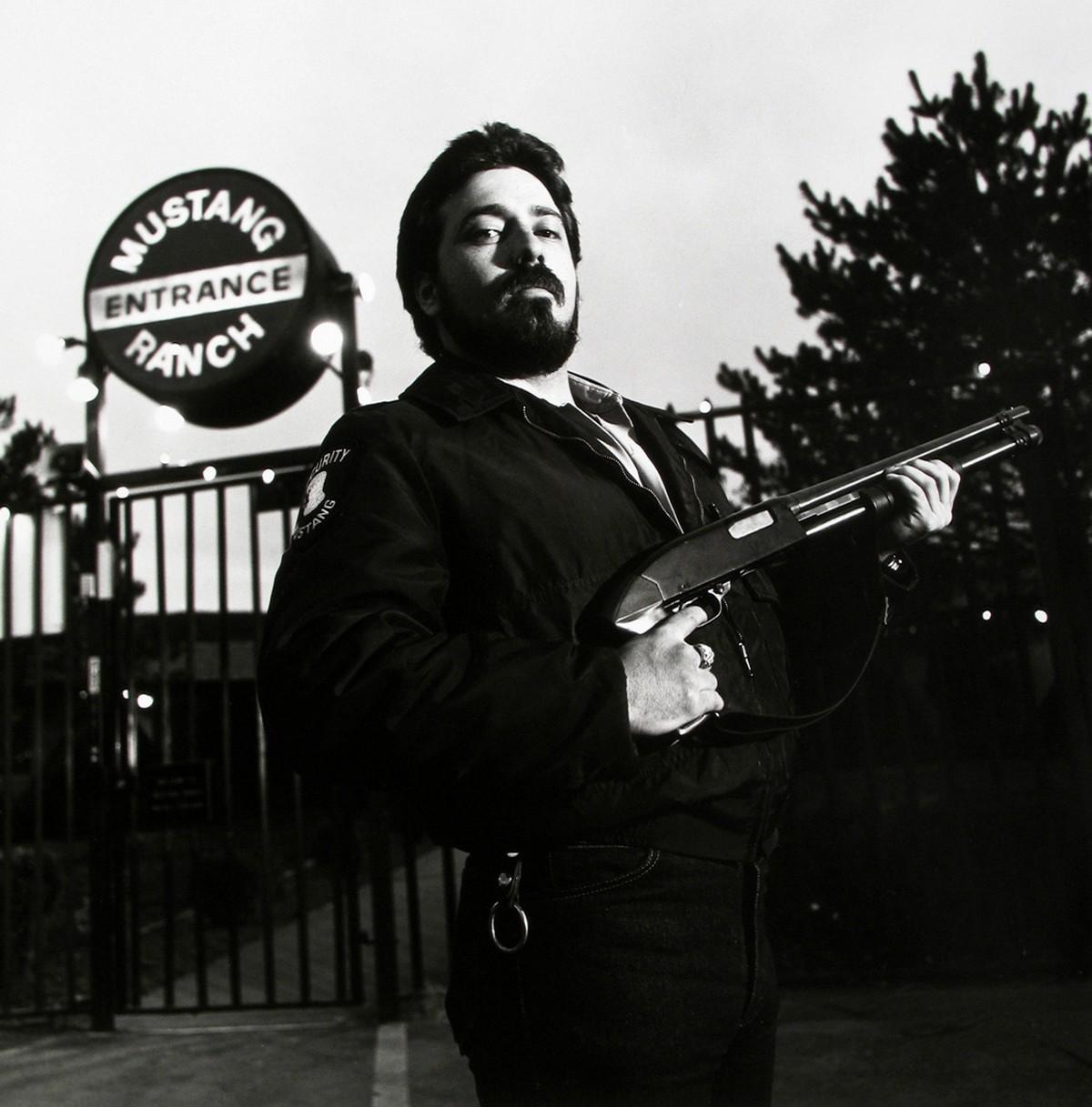 Первый легальный бордель Невады на снимках Нормана Маускопфа