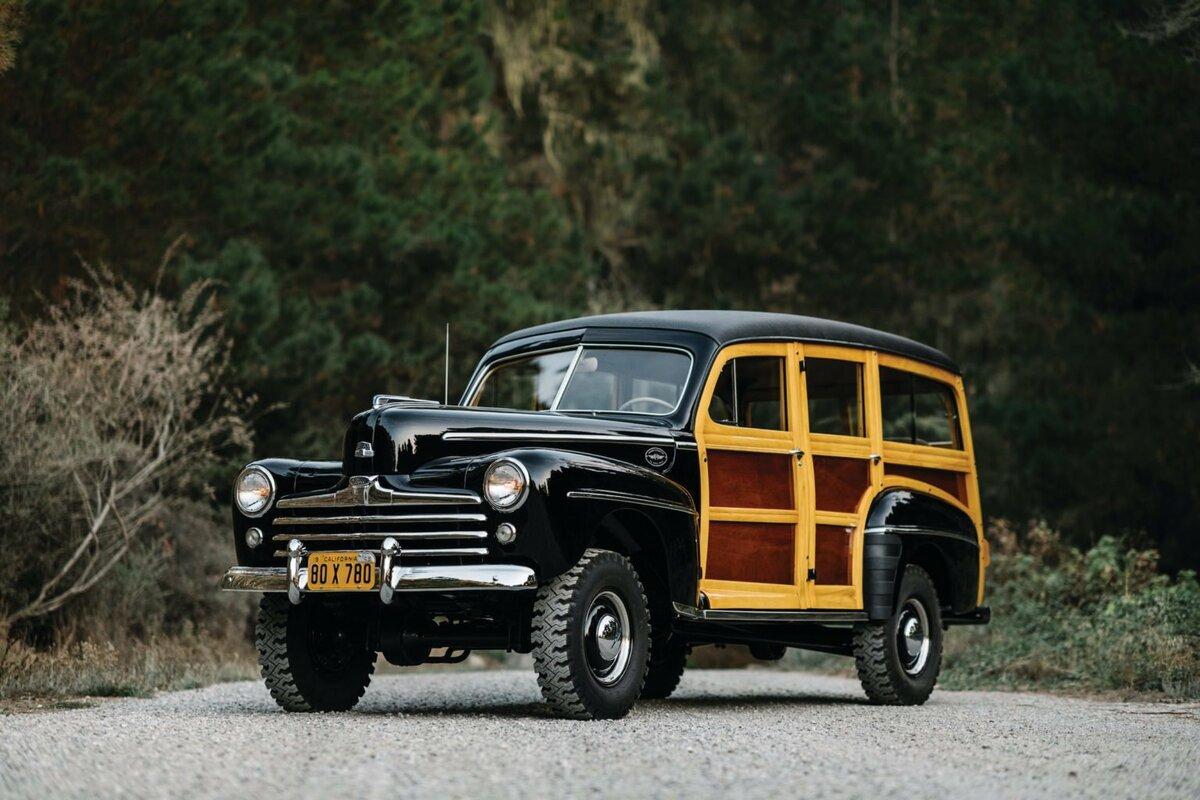 Первый роскошный внедорожник Ford Marmon-Herrington Super Deluxe 4×4