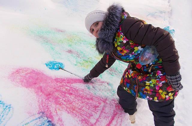 Почему снег бывает разных цветов