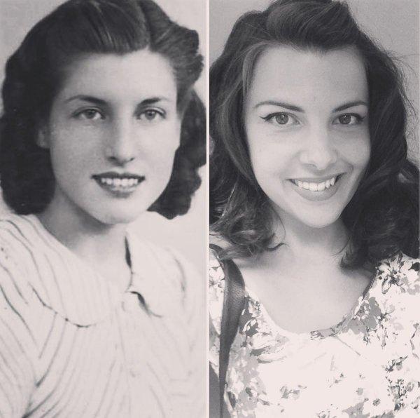Пользователи сети воссоздали старые фотографии своих бабушек и дедушек