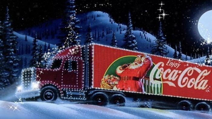 Праздник к нам приходит: откуда взялись грузовики из рекламы
