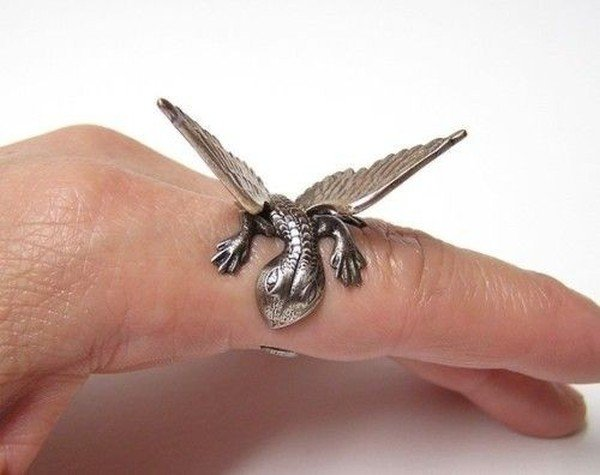 Разные необычные дизайнерские кольца