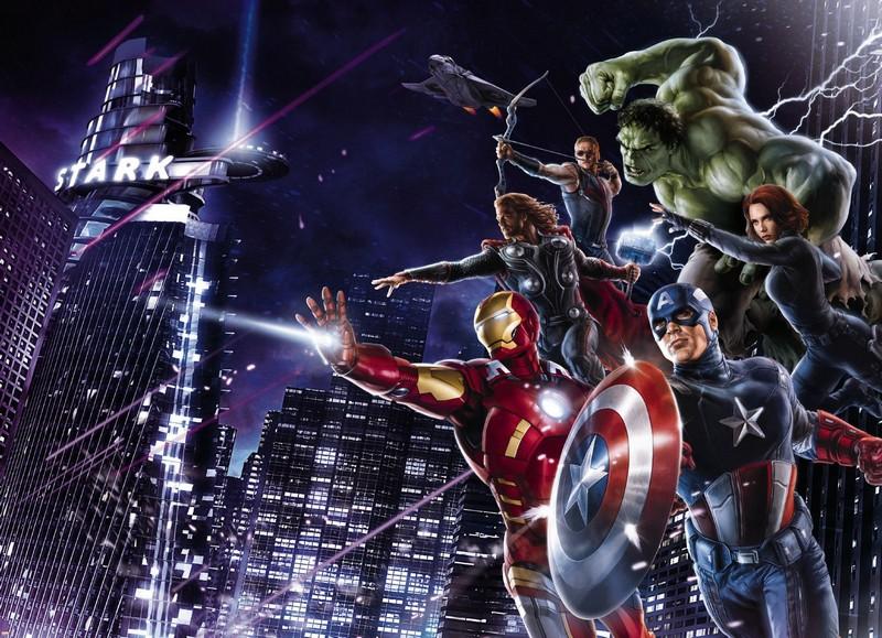 Самые популярные из супергероев всех времён