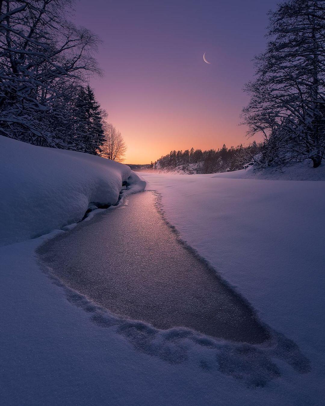 Сказочные пейзажи Норвегии от Ханса Гуннара Аслаксена
