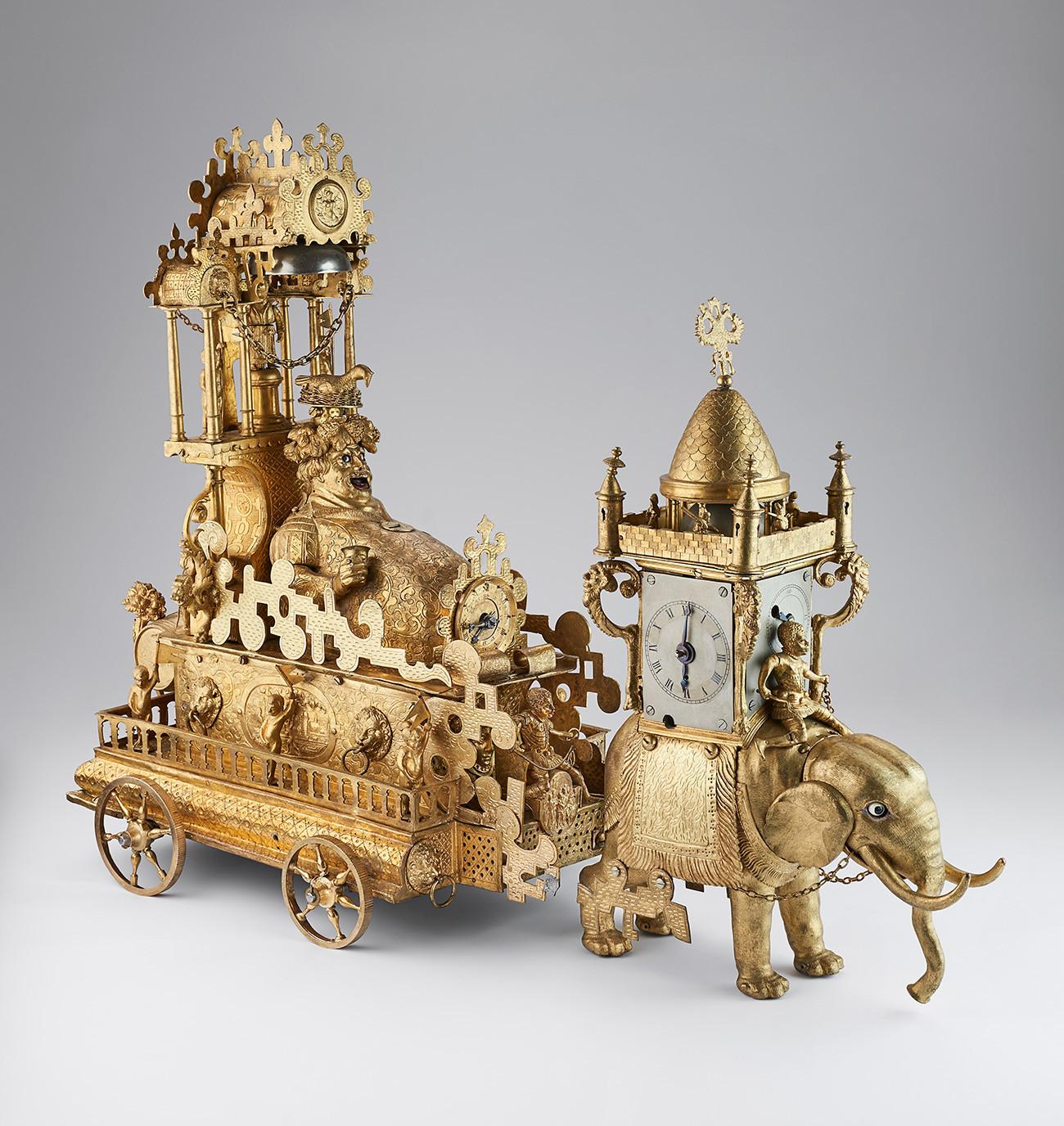 Сокровища из коллекции Петра Великого