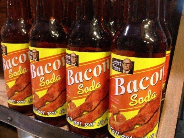 Странные продукты в американских магазинах