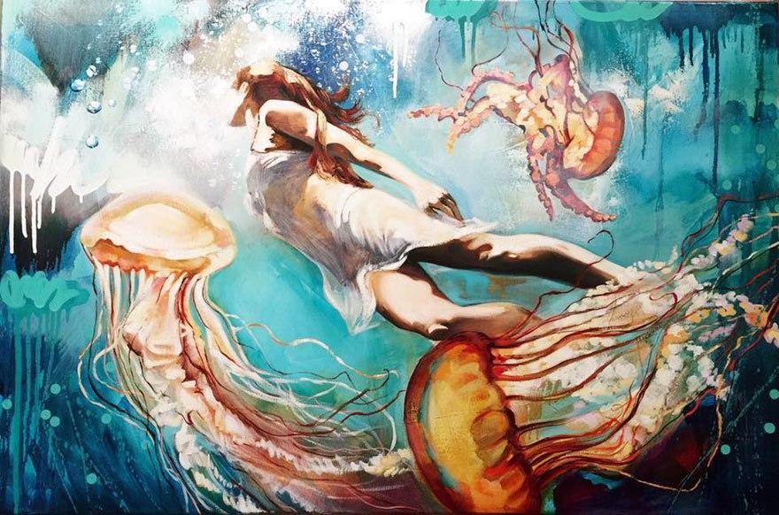 Удивительный мир живописи, где все реально и возможно