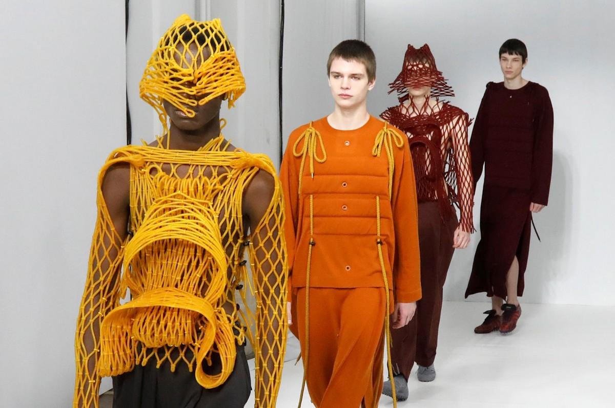 Яркие образы с недели мужской моды в Париже
