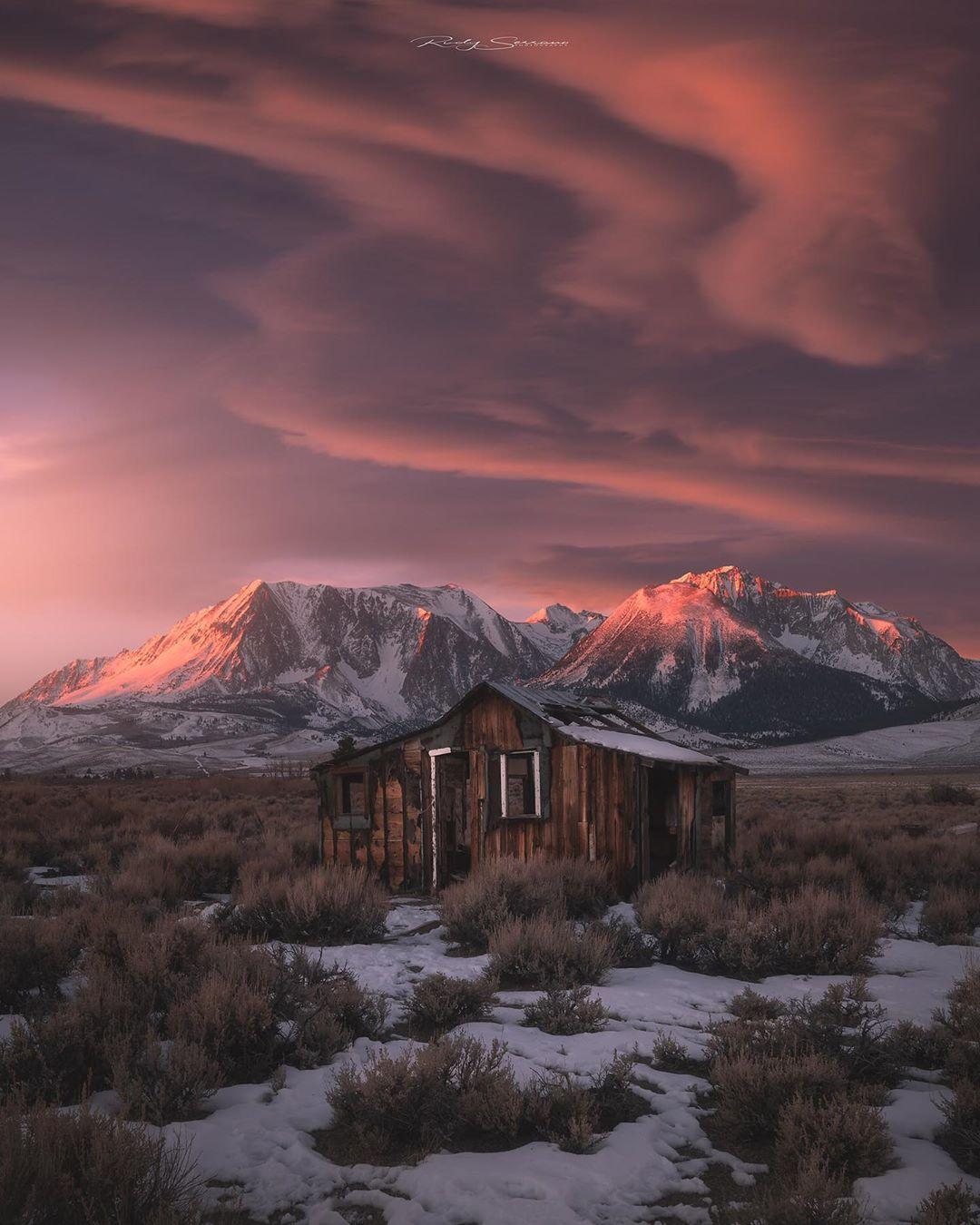 Пейзажи Калифорнии от Руди Серрано