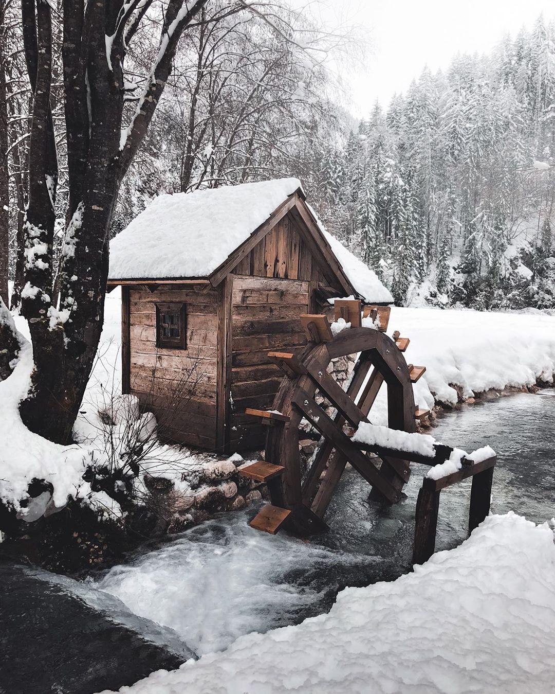 Зимние пейзажи и путешествия на снимках Эрика Рейнхарта