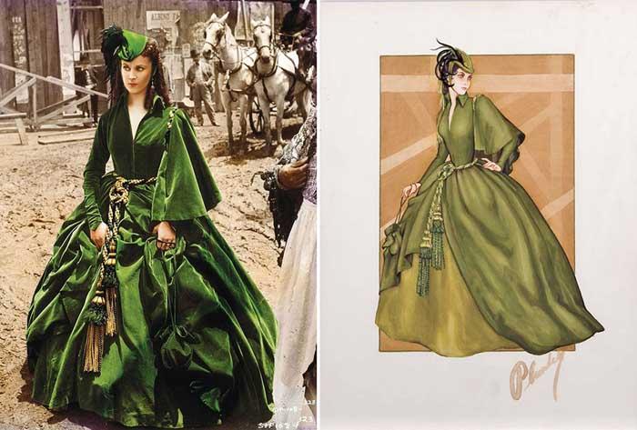 Знаменитые платья из кинофильмов