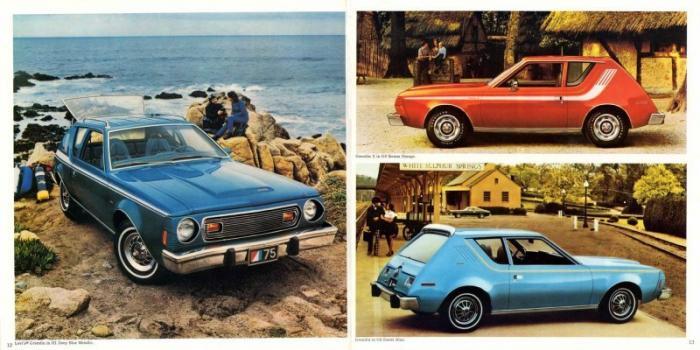 AMC Gremlin 1970-1978 – первый американский компактный автомобиль