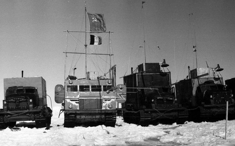 Арктический вездеход «Харьковчанка» на снимках
